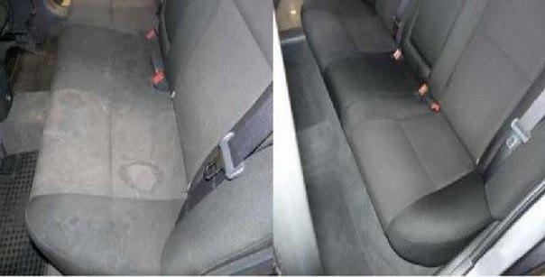 Почистить сиденья автомобиля своими руками
