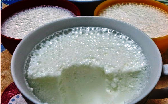 Молочный десерт для детей вместо мороженого
