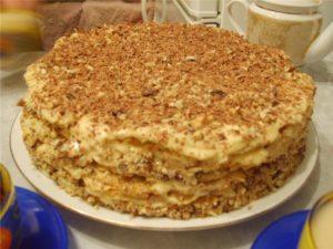 Быстрый и вкусный тортик «Без заморочек» и без выпечки
