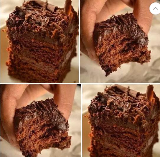 Простой рецепт пирога с какао