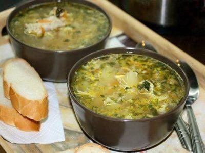 Куриный суп с яйцом. Просто объедение!