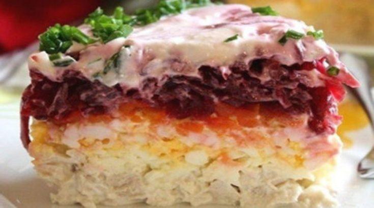 Свекольный салат «Генерал». Вкусно, не то слово! Попробуйте!Свекольный салат «Генерал». Вкусно, не то слово! Попробуйте!