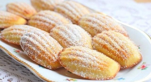 """Вкусное домашнее печенье """"Мадлен"""" за 15 минут"""