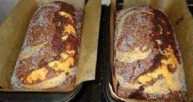 Ароматный пышный кекс. Бесподобная выпечка! Хотя есть один недостаток: слишком уж быстро исчезает с тарелки!