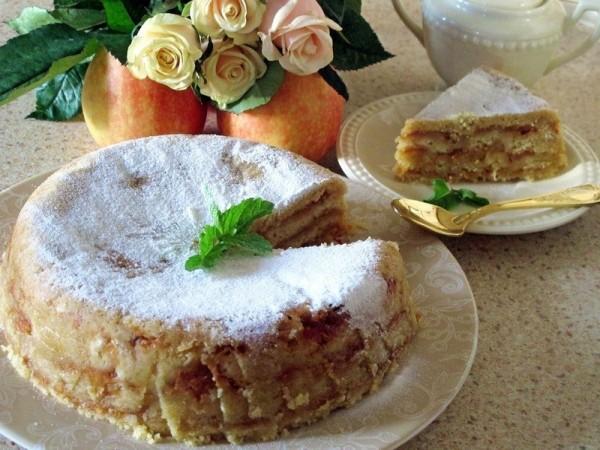Болгарский яблочный пирог или пирог «три стакана». Результат превзойдет все ваши ожидания! Просто наслаждение