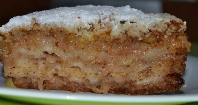 Яблочный пирог «Домашний» улетает моментально. Просто тает во рту. Фирменный рецепт моей мамы.