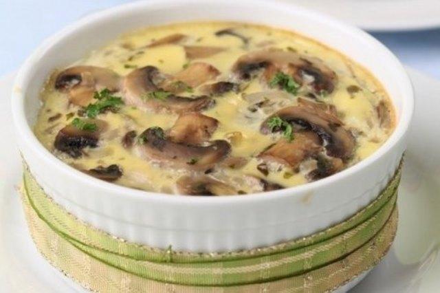 Обалденный грибной жюльен - это очень вкусно! Мои уплетают только так! Вкуснотище!