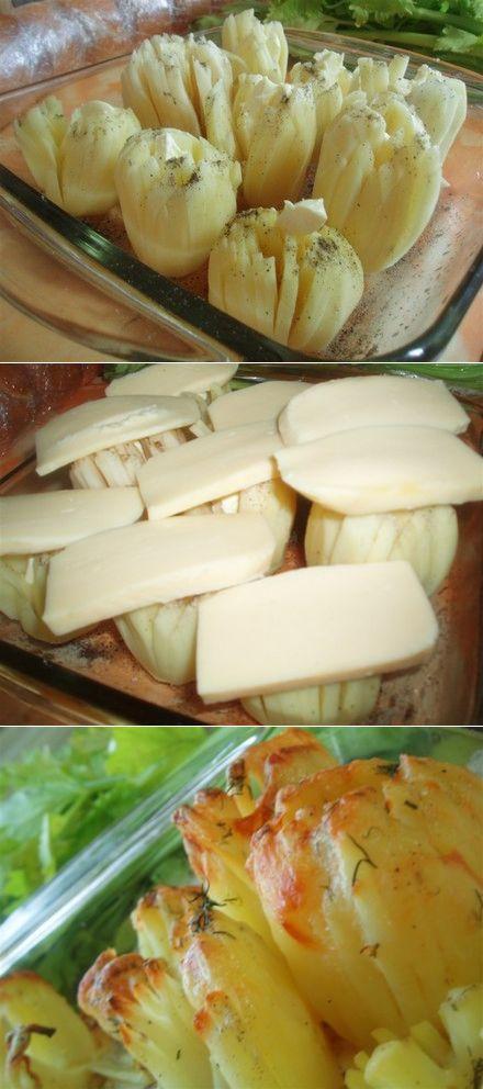 Картофель Дофинэ - обалденная закуска. Улетает моментально со стола. Стоит попробовать.