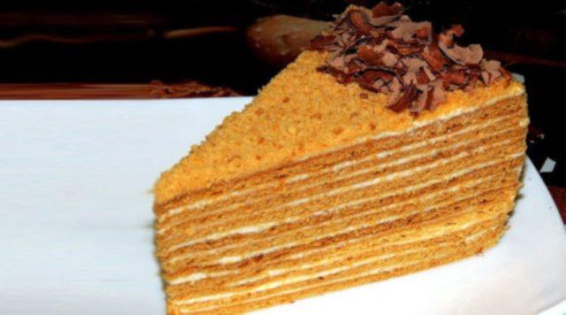 Медовый торт «Особенный». Вкуснейшее из всех медовиков!
