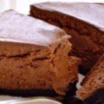 Шоколадный чизкейк для тех, кто следит за фигурой, просто тает во рту.
