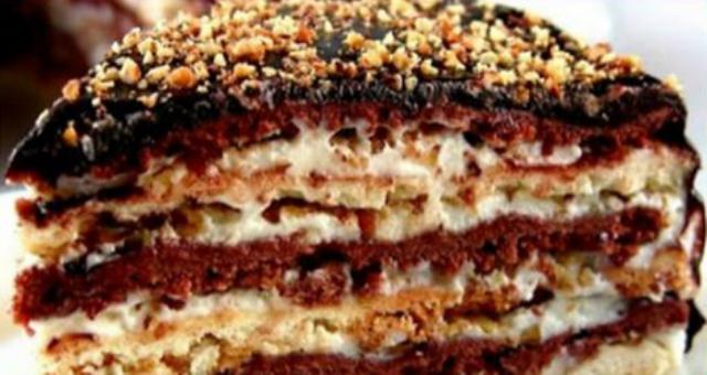 Торт «Мишка»- простой домашний Сметанник