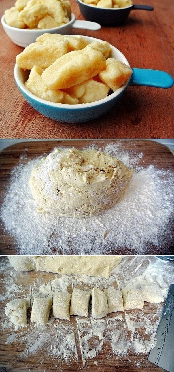 Пошаговый рецепт ленивых вареников из творога