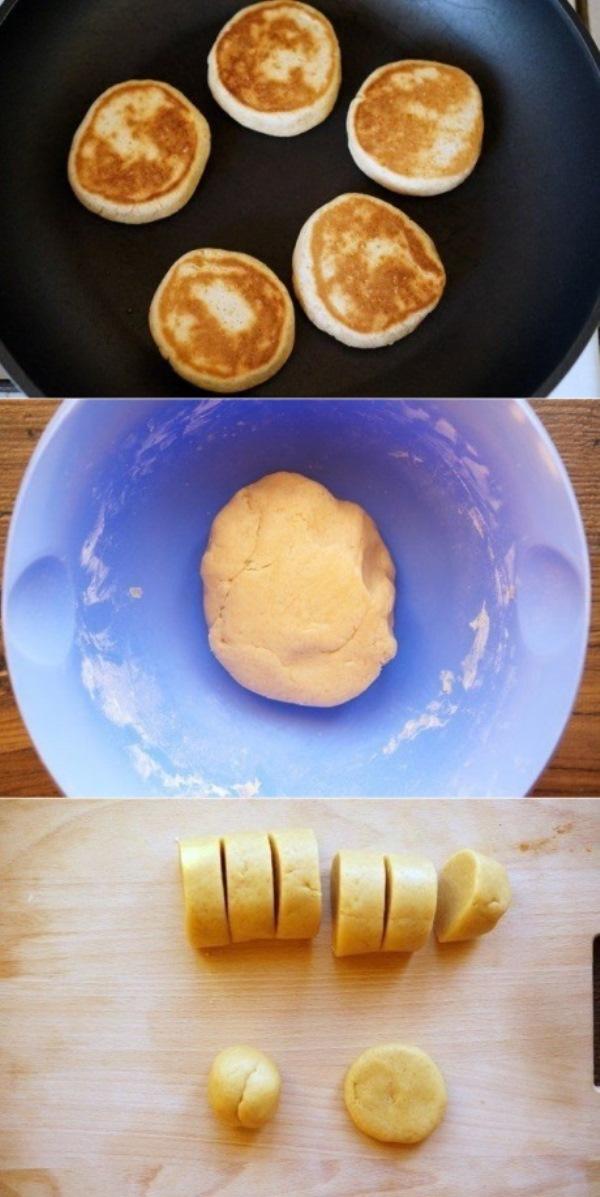 Быстрое печенье на сковороде получается очень нежным, ароматным и вкусным.