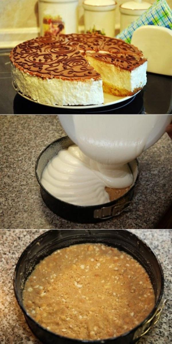 Торт «Птичье молоко» с ароматом лимона! Непередaвaемый вкус!
