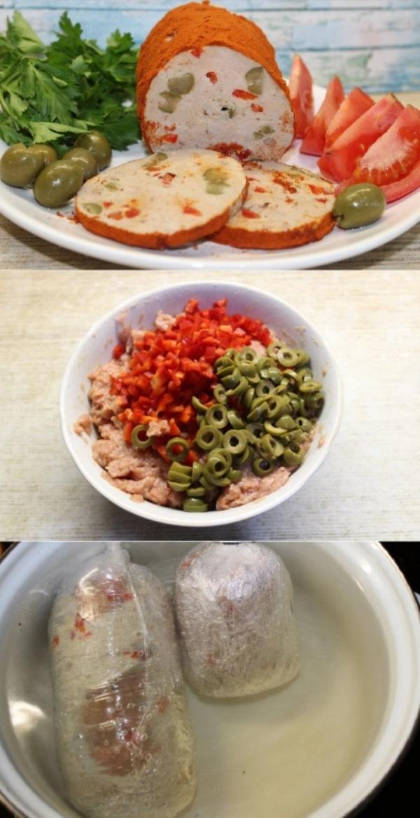 Мортаделла — королева итальянских колбас. Такую ты запросто сделаешь у себя дома! Вариация на тему классического рецепта.