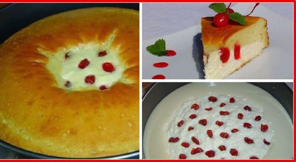 Пирог-ватрушка готовится очень просто, а вкус бесподобный. Кто бы не попробовал, непременно просят рецепт, продукты самые доступные.
