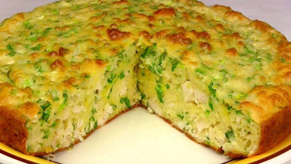 Без сомненья, это один из лучших рецептов пирога с зеленым луком и яйцом!
