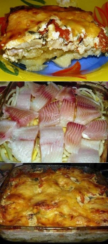 Картофельная запеканка с рыбкой мои детишки уплетают за обе щеки. И вкусно, и полезно.