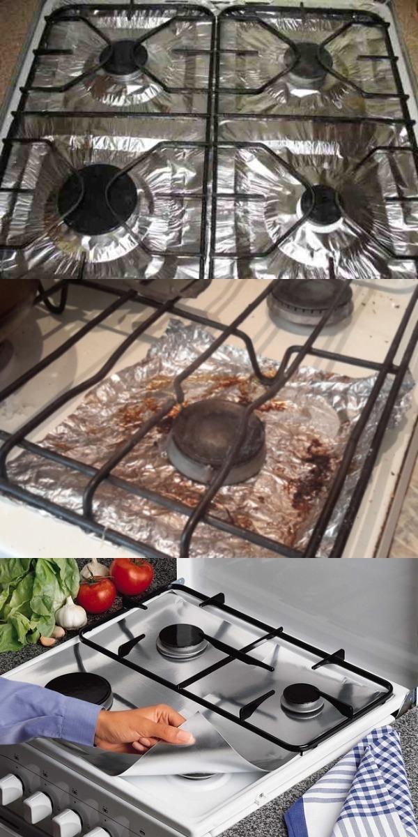 А вы знаете, зачем нужно застилать плиту фольгой