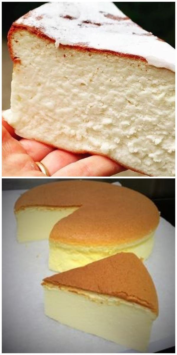 Воздушный чизкейк: привезла рецепт из Японии, размер и пышность пирога впечатляют