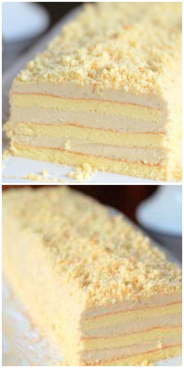 Торт «Славянка» с невероятным кремом имеет головокружительный успех!