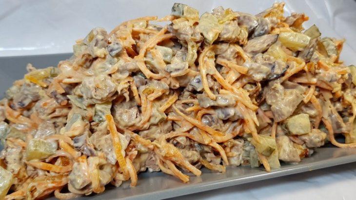 Салат «Жемчужина»: всего 4 ингредиента, но до чего же вкусно. Попробуй, он того стоит.