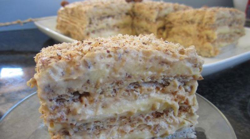 Любимый торт «Египетский». По просьбам родных, готовлю постоянно