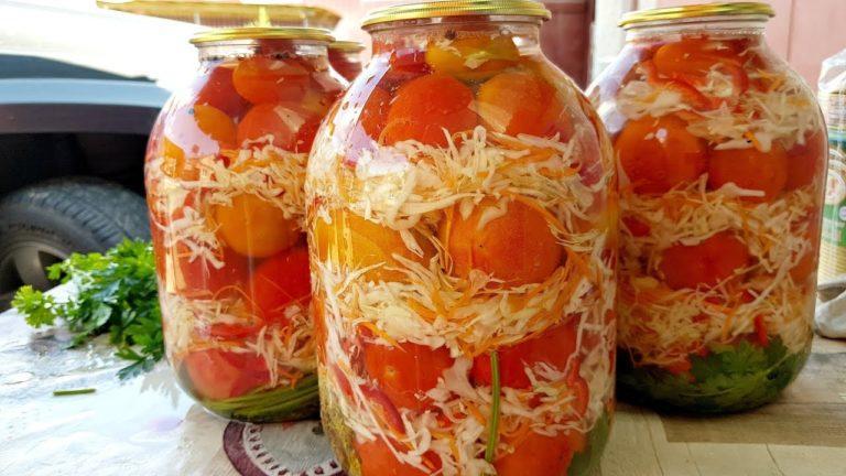 Зимой пальчики оближешь! Невероятно вкусные помидоры на зиму