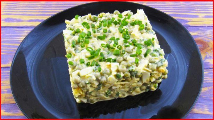 Салат «Чайка» за 5 минут! Вкусно, быстро и просто!