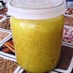 Имбирь с лимоном и мёдом фото