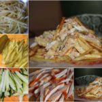 """Салат """"Анастасия"""" Очень вкусный и сытный салат из недорогих продуктов."""