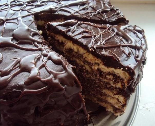 """Торт на кефире """"Черный принц"""""""