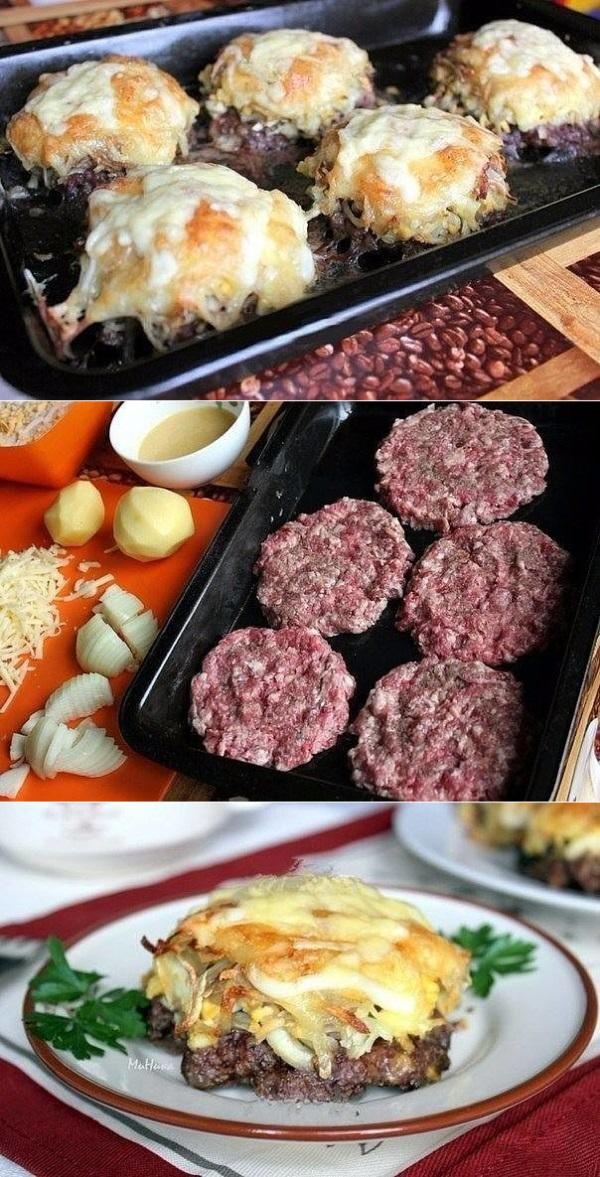 Стожки — блюдо из мясного фарша