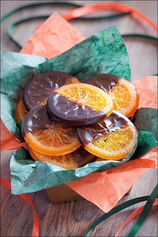 Карамелизованные апельсины в шоколаде. Вы точно такого еще не готовили! Вкуснотище.