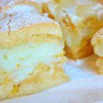 Великолепный яблочный пирог! Сочетание нежного песочного теста, яблок и пудингового крема просто идеально!