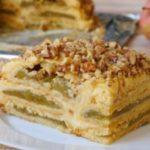 Яблочный торт с заварным кремом НИКОГО не оставит равнодушным. Мой коронный рецепт.