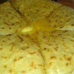 Хычины c домашним сыром и картофелем
