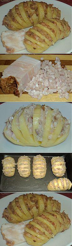 Картофель с беконом уже готов через пол часа. Детки с удовольствием уплетают за обе щеки. Рецепт - находка.