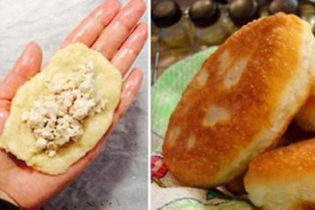 Пышные пирожки на кефире! Вкуснейший рецепт! Блюдо вне конкуренции!