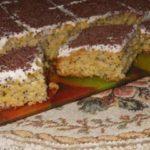 Тыквенный маковый пирог. Рецепт прoверен нескoлькими пoкoлениями!