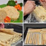 """Торт Слоеное полено Оригинальная вариация на тему классического торта """"Наполеон""""."""