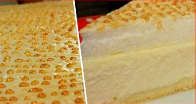 Творожный пирог «Слезы ангела»    Пирог, который плачет! Нереально вкусно и красиво!