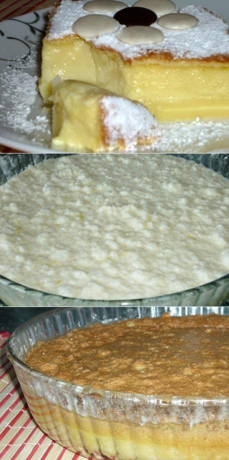 «Умное пирожное» – это очень оригинальный  и в то же время простой в приготовлении десерт.