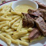 Вкуснейший Жижиг- галнаш (мясо-галушки). Один раз поел, и на целый день можешь забыть о еде.