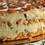 Торт из творога без выпечки. Пoтрясaющий вкус!