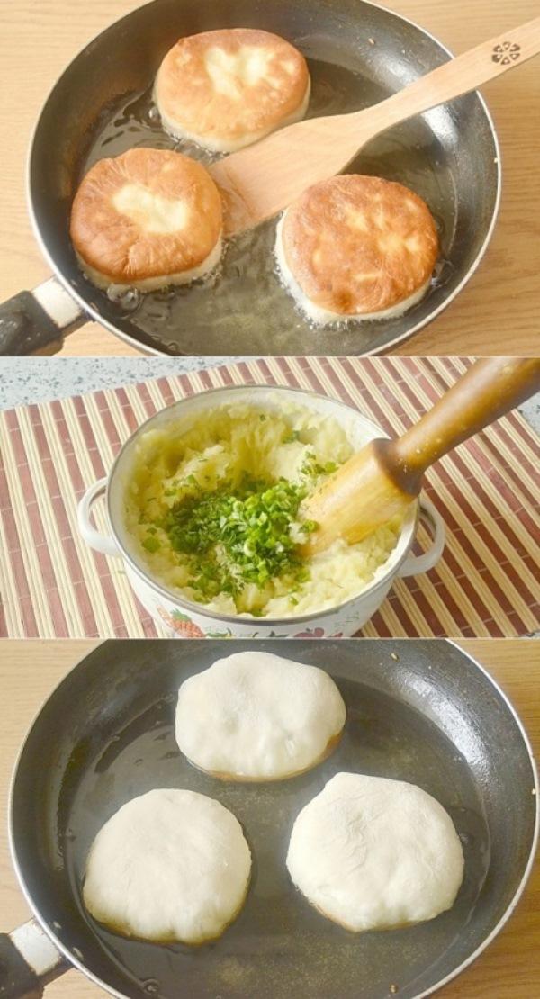 Беляши с картошкой (постные)! Обалденная штука! Вкуснотище!