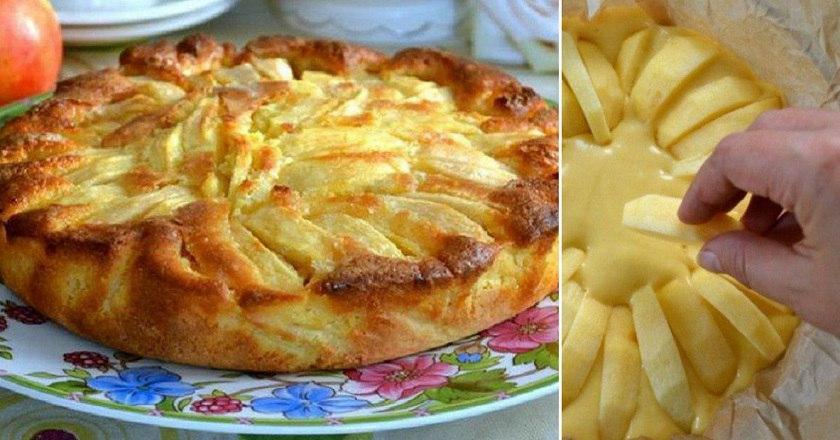 Деревенский яблочный пирог родом из Италии. Мягкое тесто, хрустящая корочка, начинка с кислинкой — всё, как я люблю!
