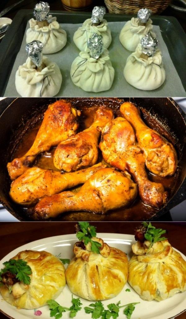 Когда я готовлю голень, сбегаются все родственники! Аппетитная куриная ножка, вкуснейшая начинка, нежное тесто. Королевское блюдо для скромных ужинов.