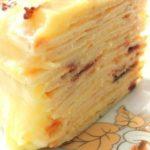 Сказочно вкусный «сковородошный» торт с творожным заварным кремом. ! С приготовлением справится каждый!