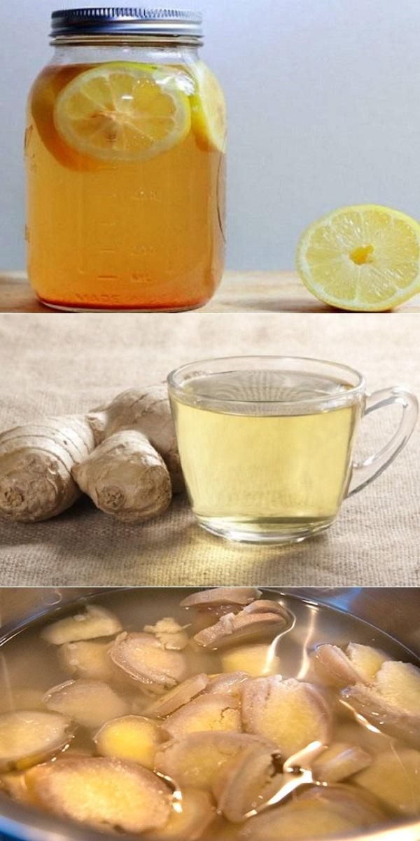 Имбирная вода — самый полезный напиток, который успешно сжигает избыток жира на вашей талии и бедрах!Имбирная вода — самый полезный напиток, который успешно сжигает избыток жира на вашей талии и бедрах!
